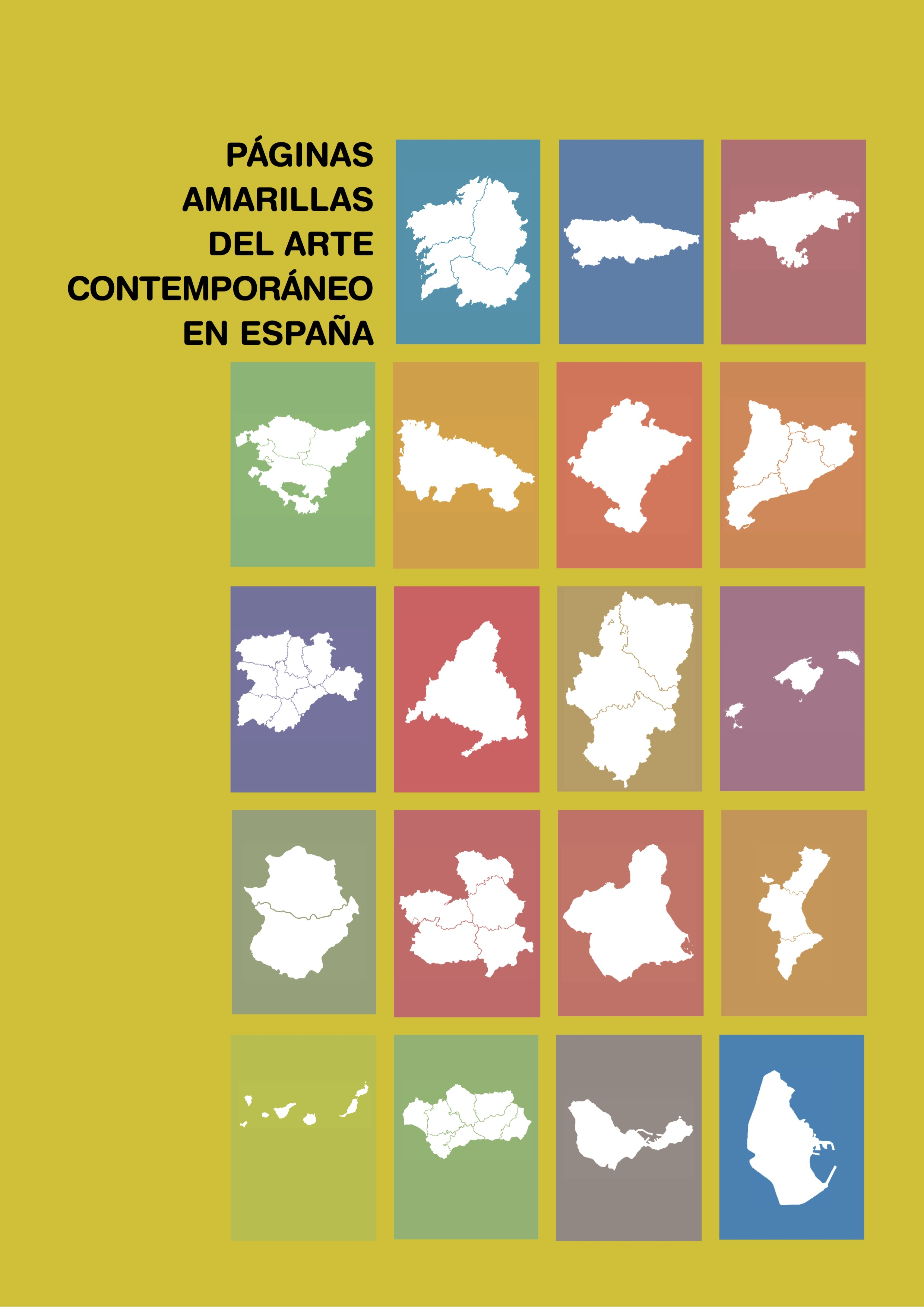 Yellow pages of contemporary art in Spain
