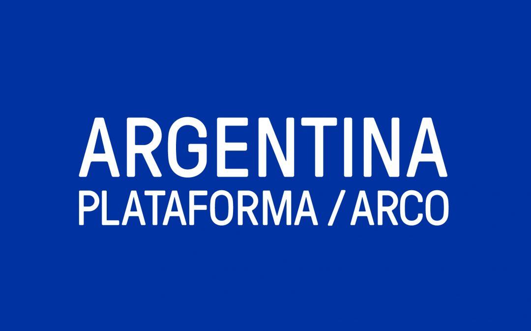 Argentina. Plataforma / ARCO